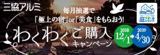 三協立山アルミご購入キャンペーン